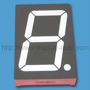 Zweifarbiges 7-Segment-LED-Display (45 mm)