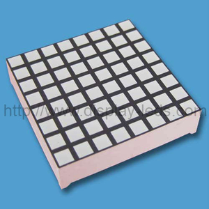 1,2 Zoll 8x8 zweifarbige LED Square Dot Matrix