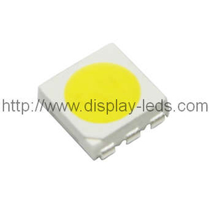 5050 PLCC6 Top SMD LED in Weiß